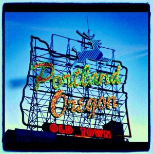 The Famous Portland Sign